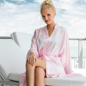 The_Linen_Mart_Satin_Luxury_Bath_Robe_pink