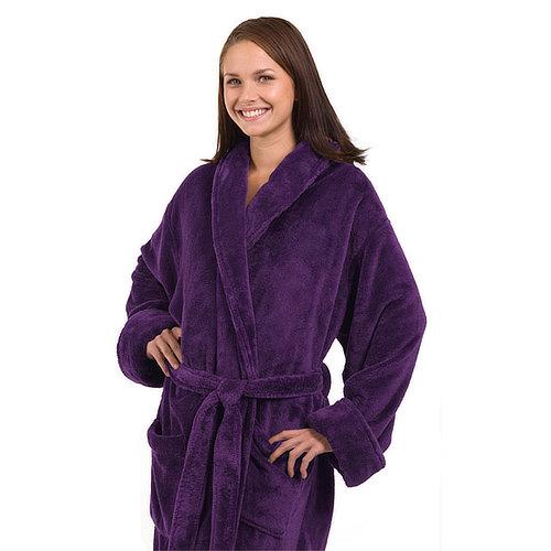 The_Linen_Mart_Tahoe_Fleece_Bath_Robe_purple
