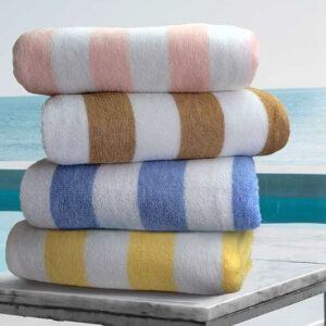 The Linen Mart Resistenza Cabana Towel